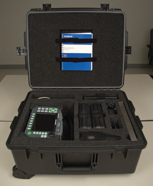 Large transport case for portable Epoch 1000