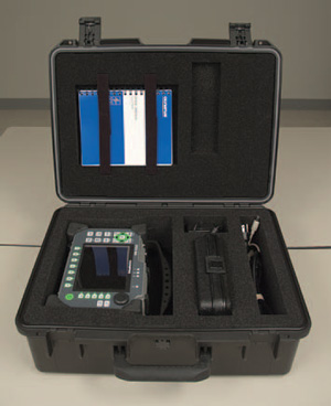 Small transport case for portable Epoch 1000