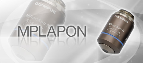 MPLAPON - Olympus High Level Wavefront Aberration Correction Objective Lenses