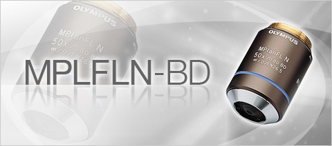 MPLFLN-BD Semi Apochromat Color Correction Versatile Brightfield and Darkfield Objective Lenses