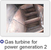 Gas turbine for  power generation 2