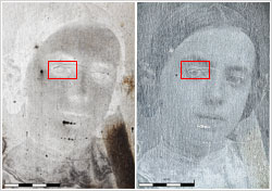 Fig3b-brightfield-darkfield-profiling-silver-plate-daguerreotype-damage