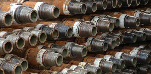 oil well drilling pipes