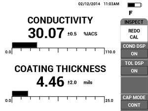 Conductivity and Coating Thickness Measurement (600C, 600S and 600D)
