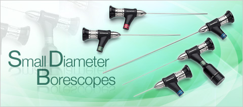 Small Diameter Borescopes