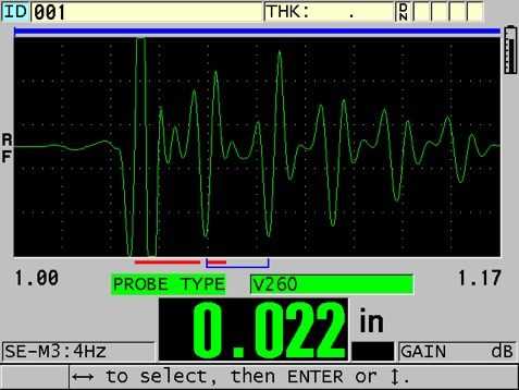 Use an instrument with an RF waveform display
