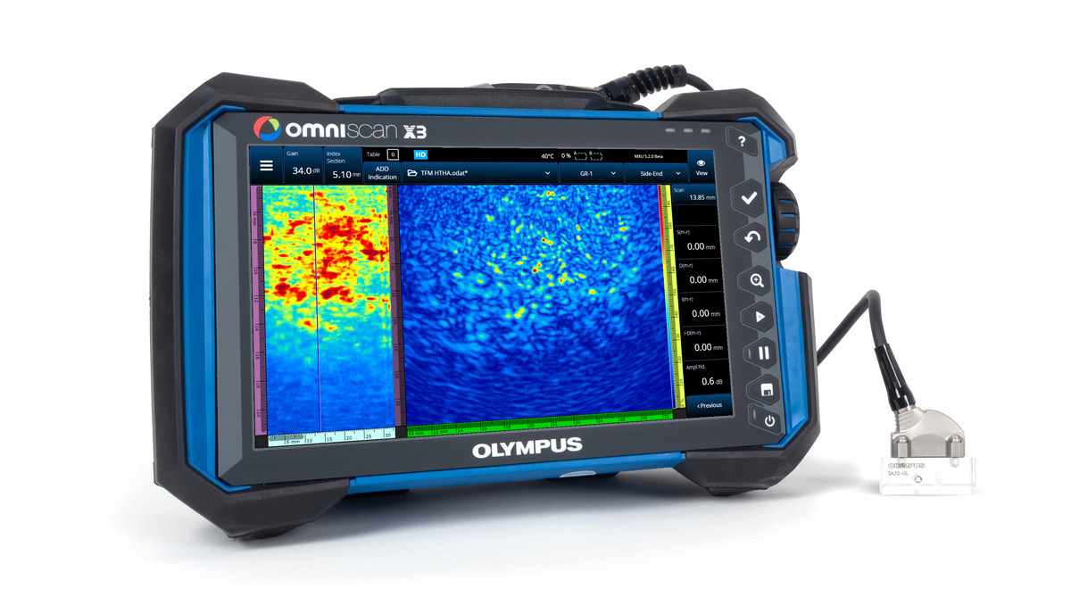 Image of OmniScan X3 Phased Array Flaw Detector with TFM