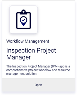 Inspection Project Managerアプリ