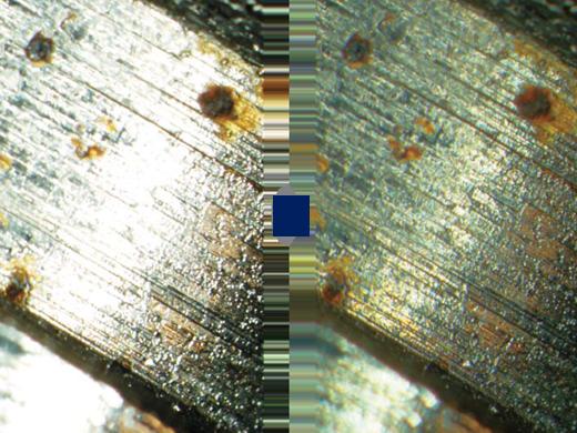 HDRで暗部と明部を同時に最適露光された画像