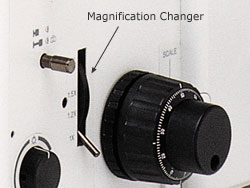 GX71 Magnification Changer Switch