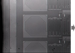 従来の赤外線顕微鏡像