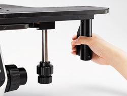 Microscope Manual XY Stage with Built-in Clutch