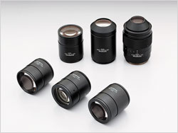 Lineup of Objective Lenses