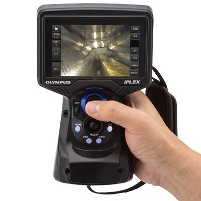 Get powerful imaging capabilities in a videoscope that's small and rugged