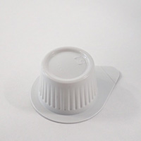 Coffee cream single-serve cup