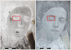 Fig3b-brightfield-darkfield-profiling-silver-plate-daguerreotype-damage