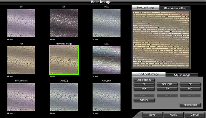 Example of a multi-preview image