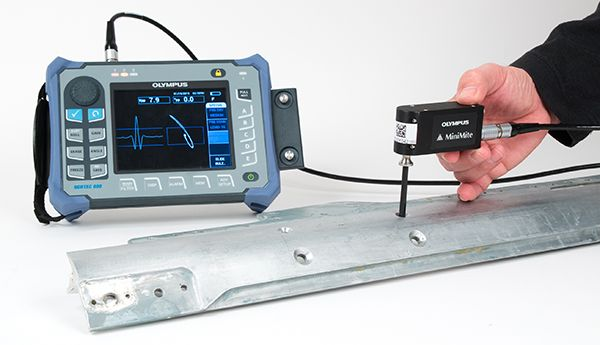 Fastener hole inspection using eddy current testing equipment