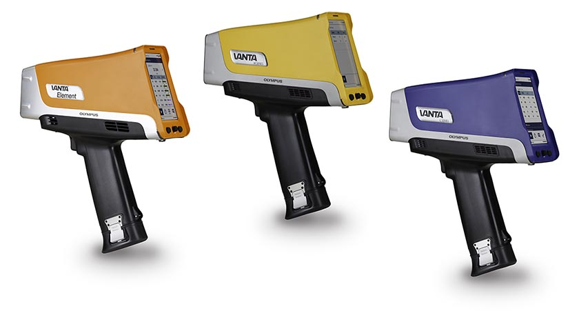 Olympus' newest handheld XRF model, the Vanta Element