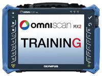 Capacitación sobre el detector de defecto OmniScan MX2