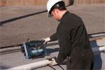 Inspección de soldaduras en tubos o tuberías de diámetro pequeño
