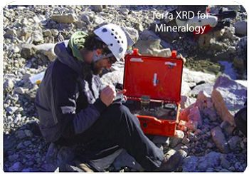 Terra XRD for Mineralogy