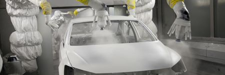 QC automotive paint finishing