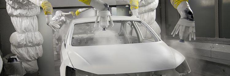 QC automotive paint finishing